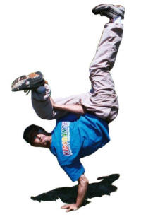 Break Dancers available upon request!